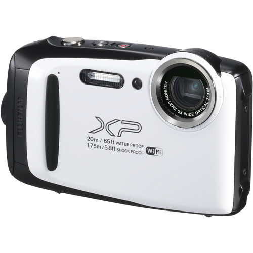 Fujifilm FinePix XP130 Digital Camera (White)