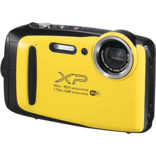 FUJIFILM FinePix XP130 Digital Camera (Yellow)