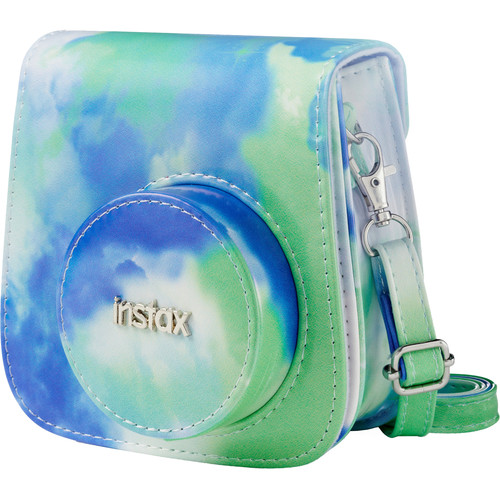 FUJIFILM Groovy Camera Case for INSTAX Mini 9 (Cobalt-Lime)