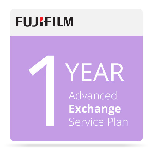 Fujifilm 1-Year Advanced Exchange Service Program for Frontier-S DX100 Printer