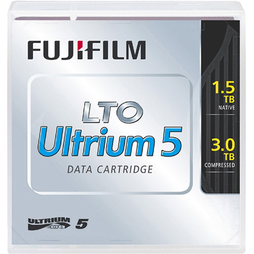 FUJIFILM LTO Ultrium-5 Data Cartridge with Custom Barcode Labeling