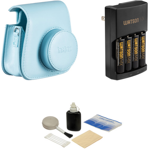 Fujifilm Camera Accessory Kit for instax mini 8 Camera (Blue)