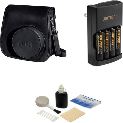 Fujifilm Camera Accessory Kit for instax mini 8 Camera (Black)