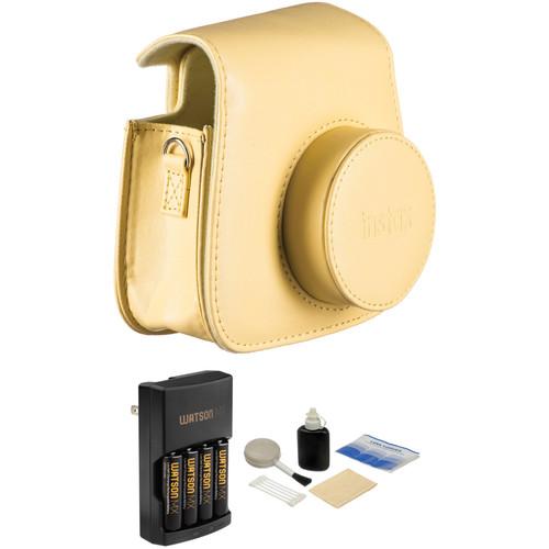Fujifilm Camera Accessory Kit for instax mini 8 Camera (Yellow)