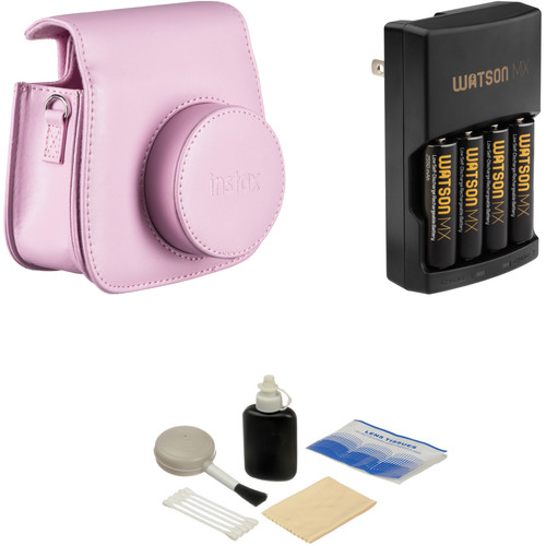 Fujifilm Camera Accessory Kit for instax mini 8 Camera (Pink)