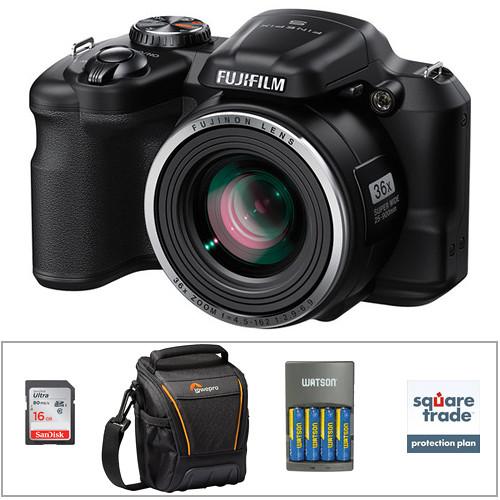 Fujifilm FinePix S8600 Digital Camera Deluxe Accessory Kit