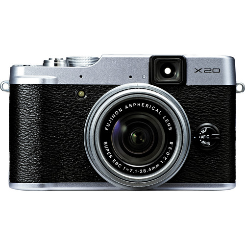 Fujifilm X20 Digital Camera (Silver)
