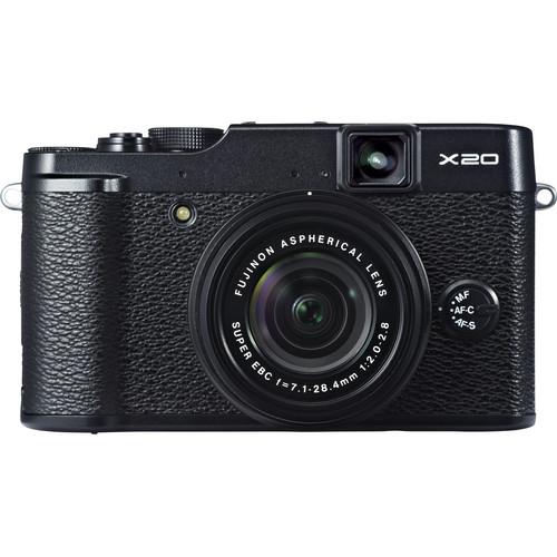 Fujifilm X20 Digital Camera (Black)