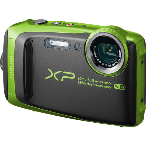 Fujifilm FinePix XP120 Digital Camera Basic Kit (Lime)