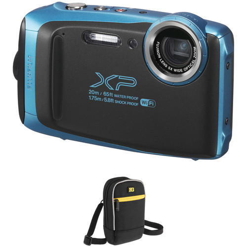 Fujifilm FinePix XP130 Digital Camera Basic Kit (Blue)