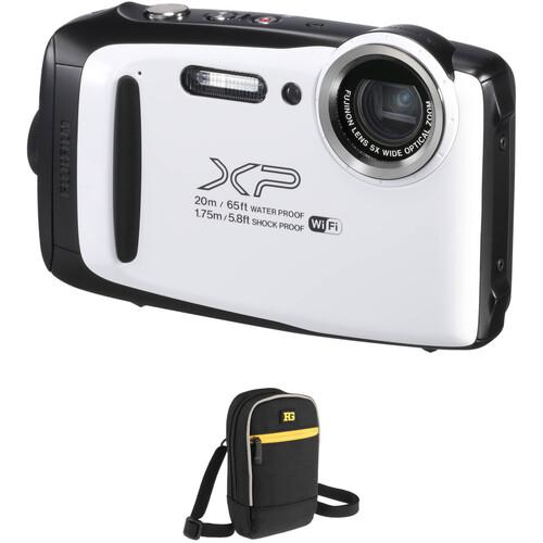 Fujifilm FinePix XP130 Digital Camera Basic Kit (White)