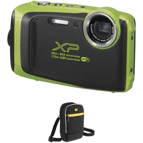Fujifilm FinePix XP130 Digital Camera Basic Kit (Lime)