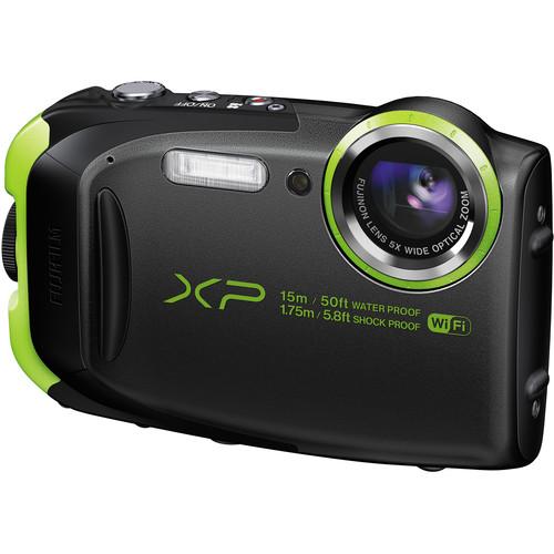Fujifilm FinePix XP80 Digital Camera (Graphite Black)