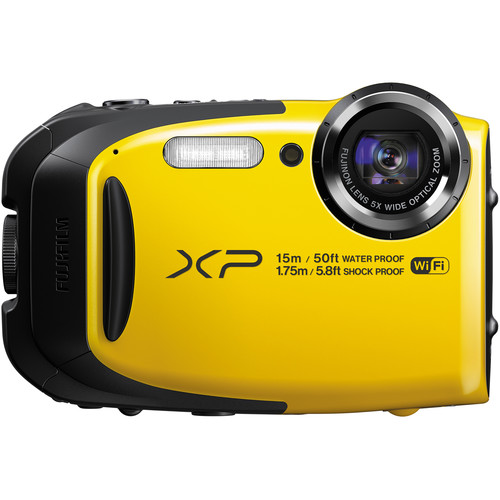 Fujifilm FinePix XP80 Digital Camera Basic Kit (Yellow)