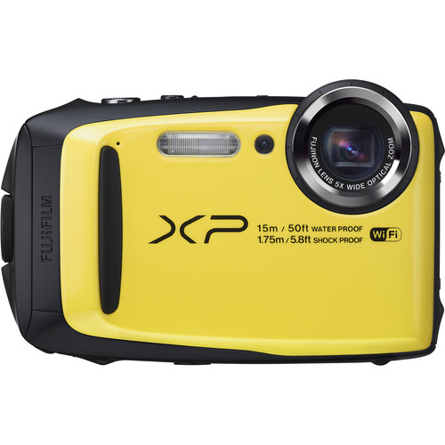 Fujifilm FinePix XP90 Digital Camera Basic Kit (Yellow)