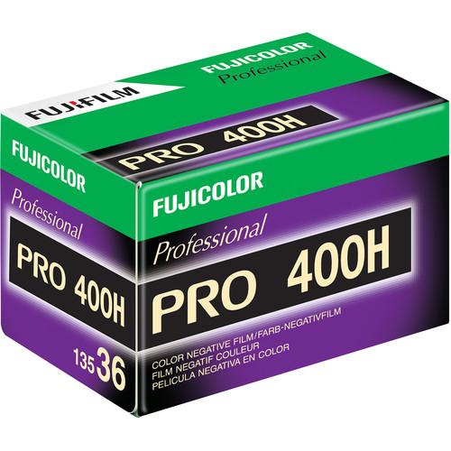 Fujifilm Fujicolor PRO 400H Professional Color Negative Film (35mm Roll Film, 36 Exposures, 40 Pack)