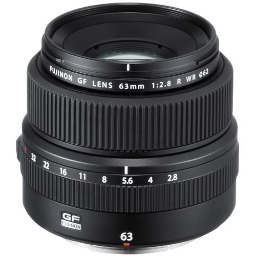 FUJIFILM GF 63mm f/2.8 R WR Lens