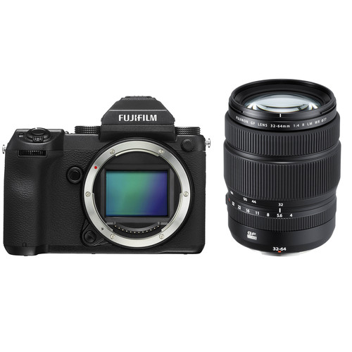 Fujifilm GFX 50S Medium Format Mirrorless Camera with 32-64mm Lens Kit