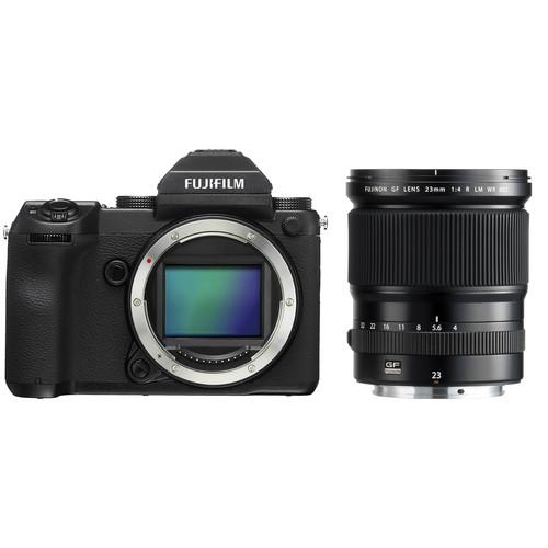 Fujifilm GFX 50S Medium Format Mirrorless Camera with 23mm Lens Kit