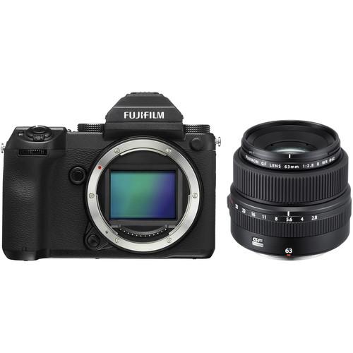 FUJIFILM GFX 50S Medium Format Mirrorless Camera with 63mm Lens Kit