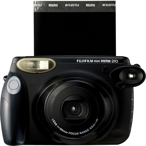 Fujifilm instax 210 Instant Film Camera with Two instax Wide Instant Color Film Twin Packs