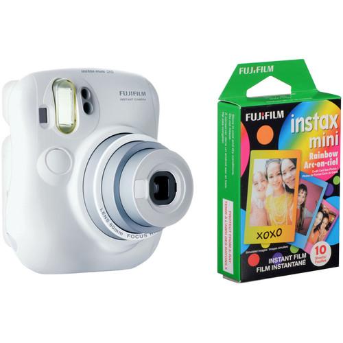 Fujifilm instax mini 25 Instant Film Camera with Single Film Pack Kit