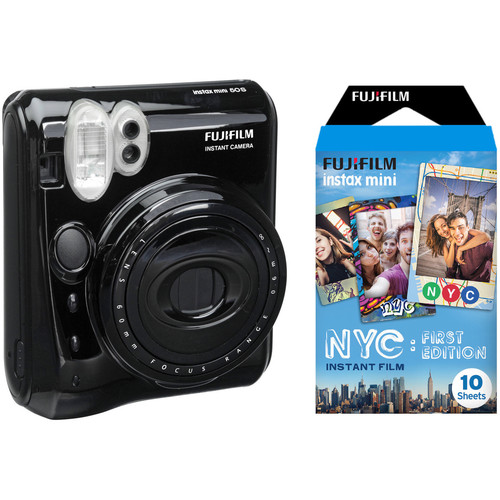 FUJIFILM instax Mini 50S Instant Film Camera with NYC First Edition Film Kit
