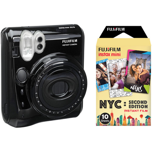 FUJIFILM instax Mini 50S Instant Film Camera with NYC Second Edition Film Kit