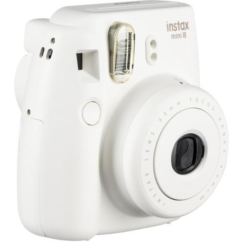 Fujifilm instax mini 8 Instant Film Camera and Groovy Case Kit (White)