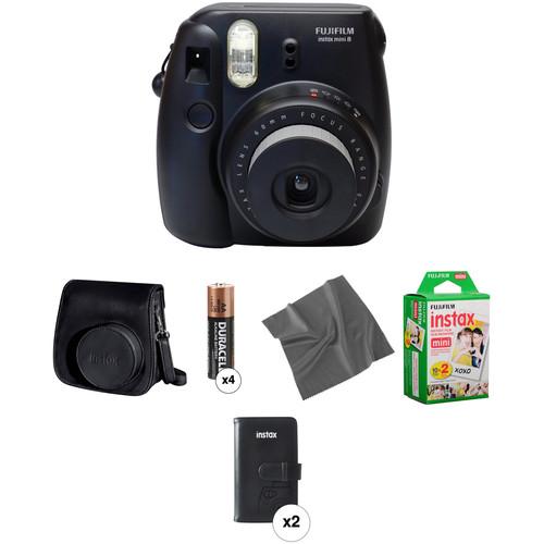 Fujifilm instax mini 8 Instant Film Camera Pro Kit (Black)