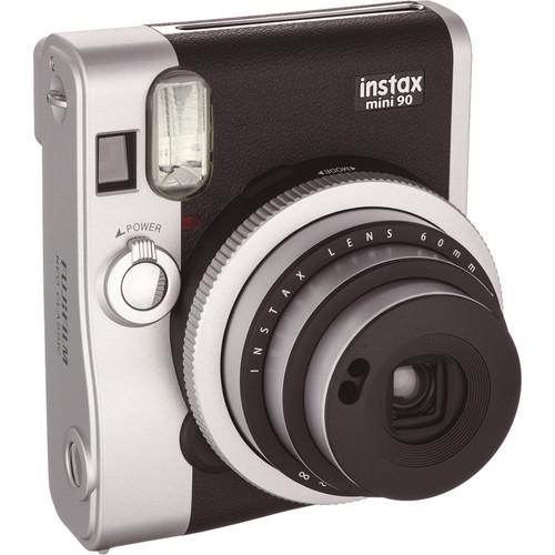 Fujifilm instax mini 90 Neo Classic Instant Film Camera Basic Kit (Black)