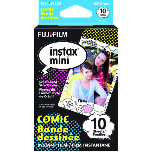 Fujifilm instax mini Comic Instant Film (10 Exposures)