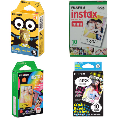 Fujifilm instax mini Instant Film 40 Sheet Bundle