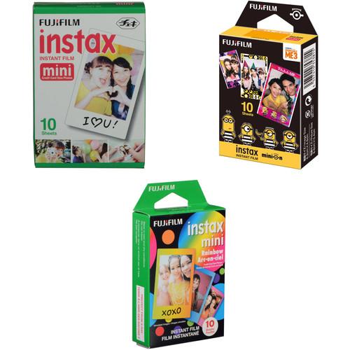 FUJIFILM INSTAX Mini Instant Film 30 Sheet Bundle