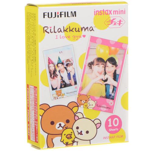 Fujifilm instax mini Rilakkuma Instant Film (10 Exposures)