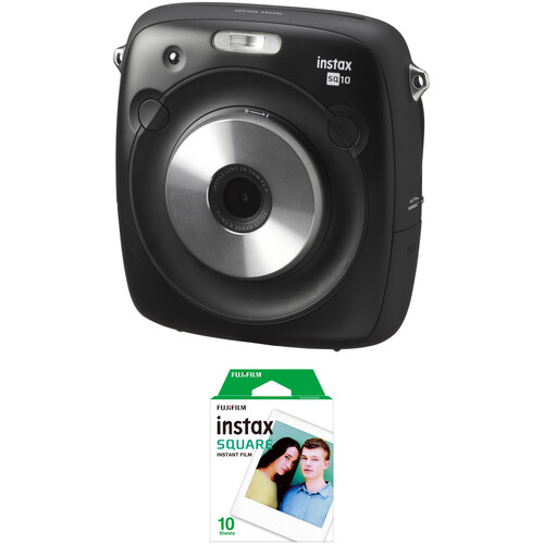 Fujifilm instax SQUARE SQ10 Hybrid Instant Camera with Instant Film Kit