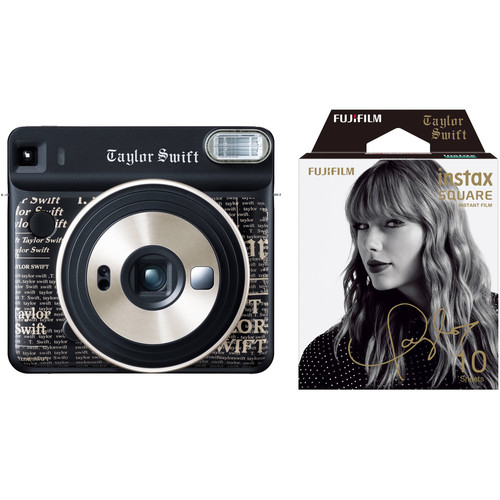 FUJIFILM INSTAX SQUARE SQ6 Taylor Swift Edition Camera and Film Kit