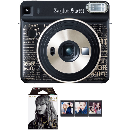 FUJIFILM INSTAX SQUARE SQ6 Taylor Swift Edition Instant Film Camera with Film Bundle