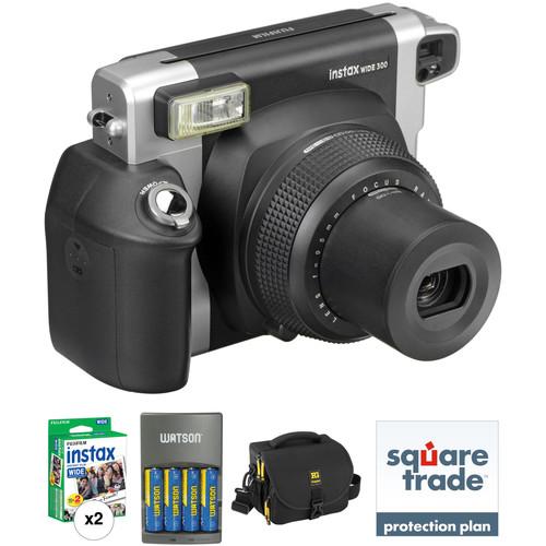 Fujifilm instax WIDE 300 Instant Film Camera Basic Kit