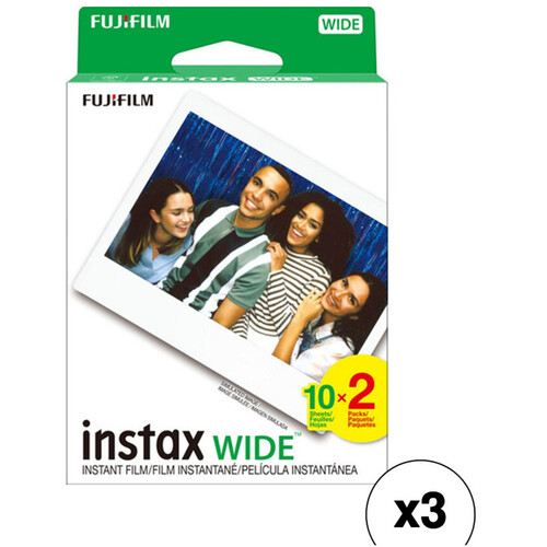 FUJIFILM INSTAX Wide Instant Film (60 Exposures)