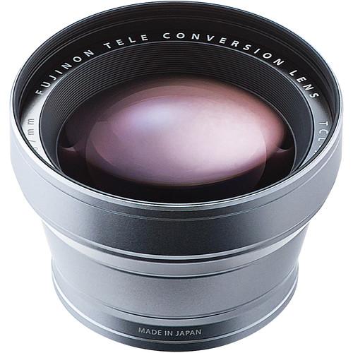 Fujifilm TCL-X100 Telephoto Conversion Lens (Silver)