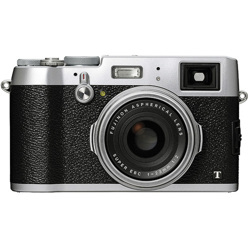 Fujifilm X100T Digital Camera Basic Kit (Silver)