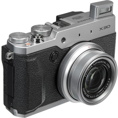 Fujifilm X30 Digital Camera Basic Kit (Silver)