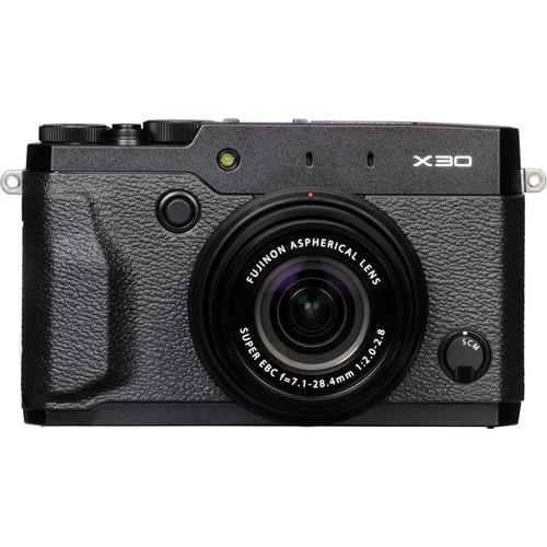 Fujifilm X30 Digital Camera Basic Kit (Black)