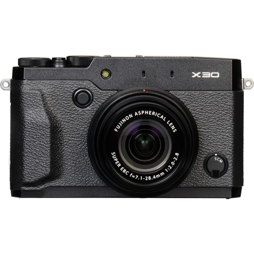 Fujifilm X30 Digital Camera Deluxe Kit (Black)