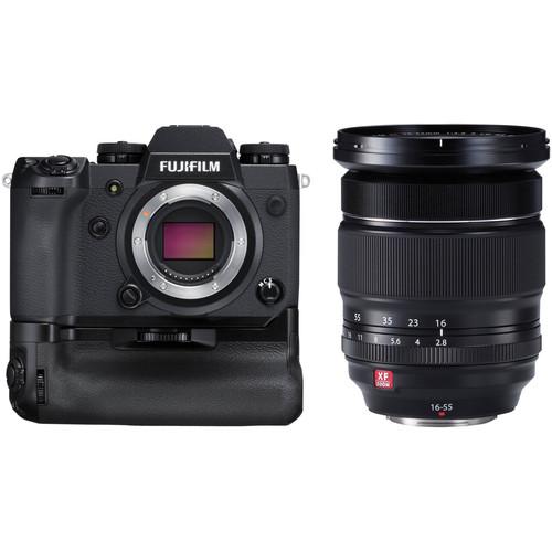 Fujifilm X-H1 Mirrorless Digital Camera with 16-55mm Lens Kit