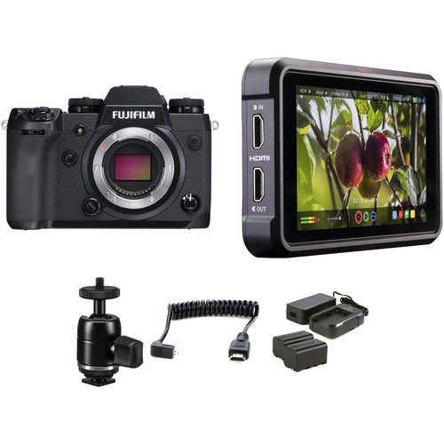 FUJIFILM X-H1 Mirrorless Digital Camera with Ninja V Kit