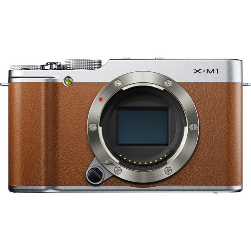 Fujifilm X-M1 Mirrorless Digital Camera (Body Only, Brown)