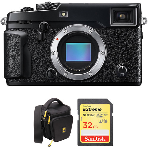 Fujifilm X-Pro2 Mirrorless Digital Camera Body and 16GB SD Card Kit