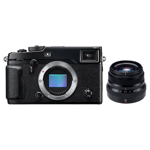 FUJIFILM X-Pro2 Mirrorless Digital Camera with 35mm Lens Kit
